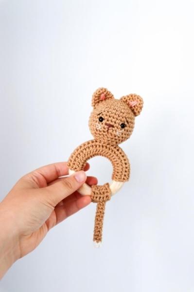 Kitten Rattle Crochet Pattern Allcrochetpatterns