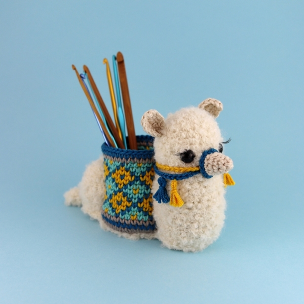 Oh My Llama Hook Holder Crochet Pattern Allcrochetpatterns