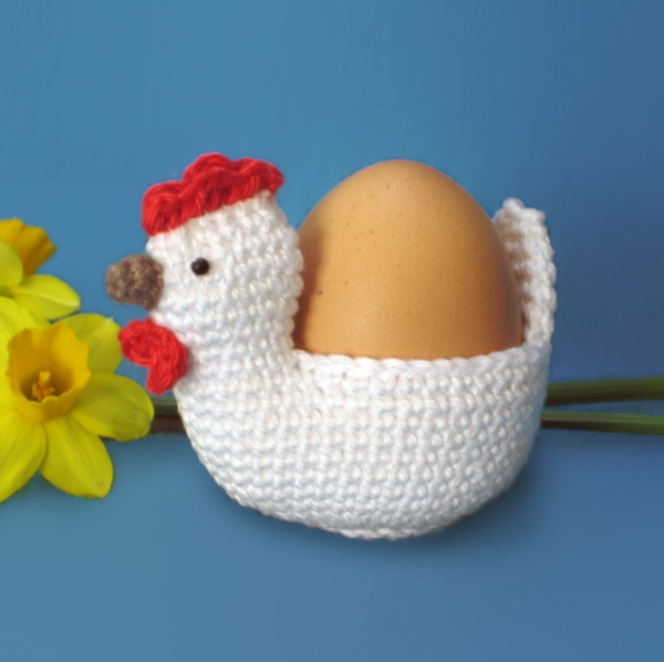Chicken Easter Egg Holder Cosy Crochet Pattern Allcrochetpatterns