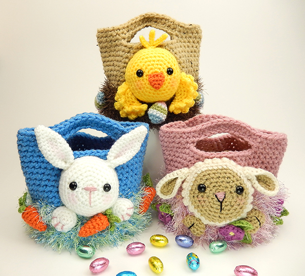 6 Free Easter Crochet Patterns to make this weekend! - Crochet Now | 543x600