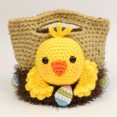 Easter treat bags crochet by Moji-Moji Design