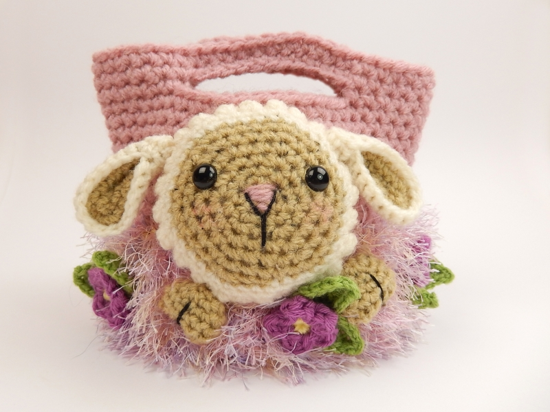 Easter Treat Bags Crochet Pattern Allcrochetpatterns