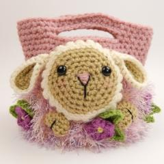 Easter treat bags crochet pattern by Moji-Moji Design