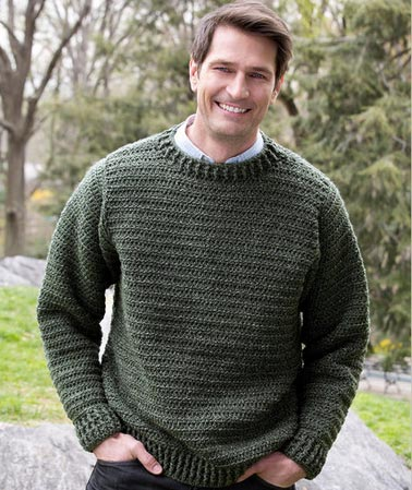 Crochet Pattern Our Father : Father pullover - Free crochet pattern