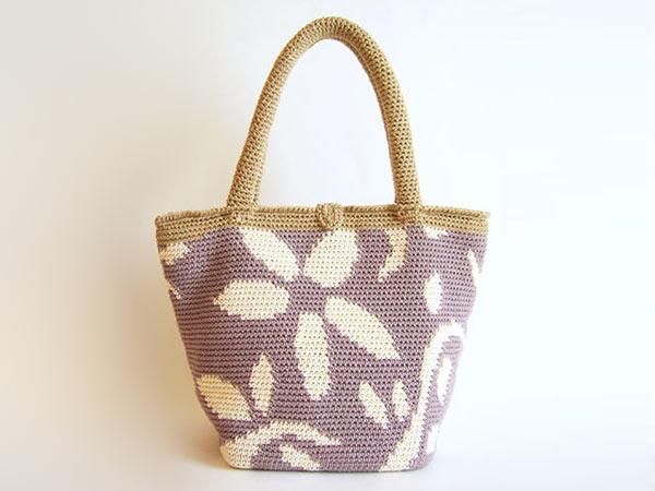 Crochet Flower Bag Pattern : Flower Bag
