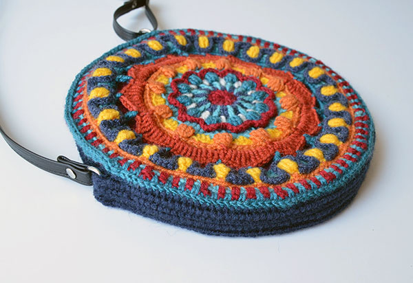 Kaleidoscope Mandala Bag Crochet Pattern Allcrochetpatternsnet