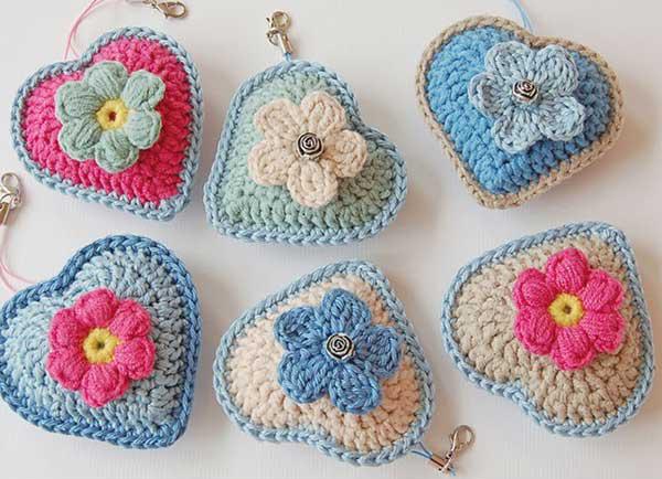 Free Crochet Cat Coin Purse Pattern