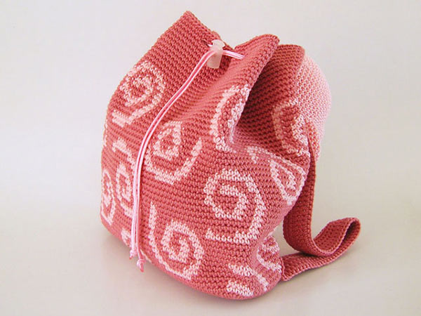 Crochet Backpack Pattern : Pig Backpack crochet pattern - Allcrochetpatterns.net