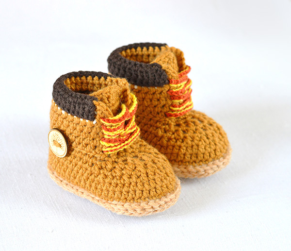 Crochett Baby Shoes