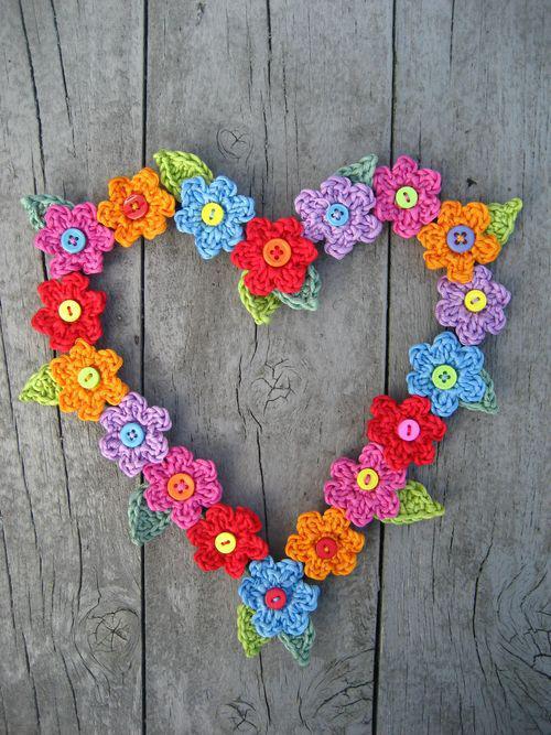 Valentine Sweet Heart Free Crochet Pattern