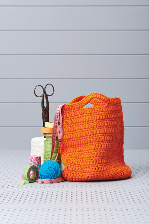Crochet Pattern For Bucket Bag : Clever bucket bag - Free crochet pattern