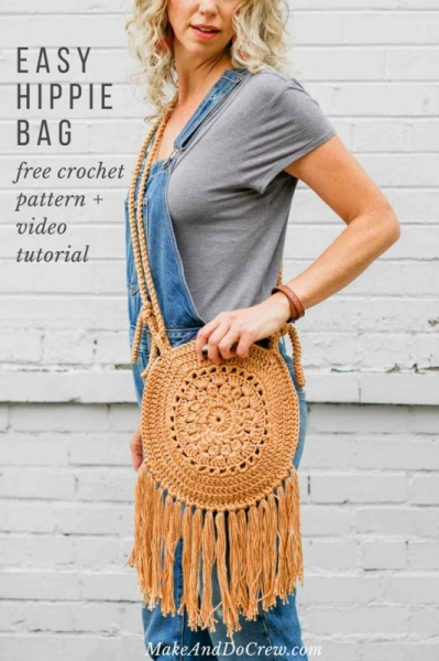 Street Fair Hippie Purse Free Crochet Pattern