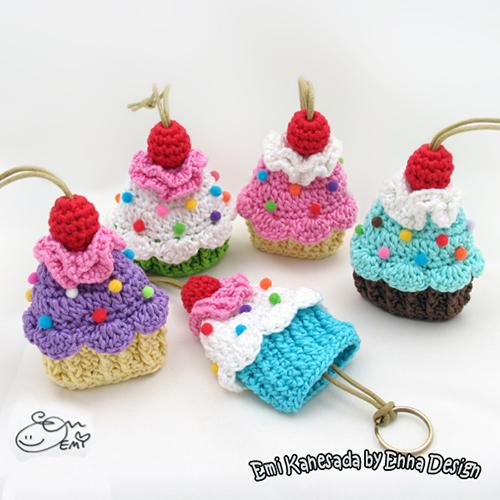 Cupcake Key Cozy Crochet Pattern Allcrochetpatterns