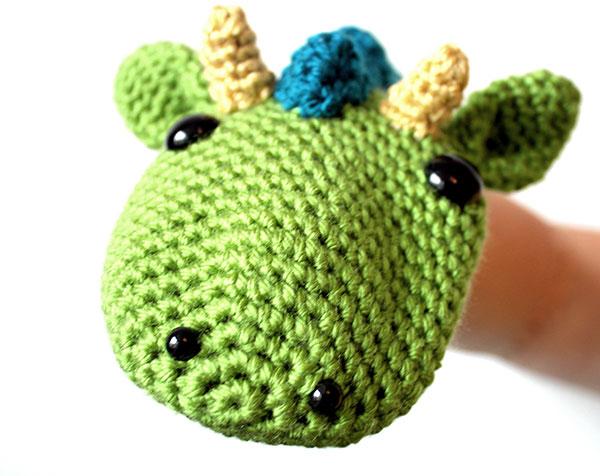 Dragon Hand Puppet Crochet Pattern Allcrochetpatterns