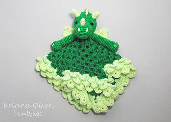 Dragon Lovey Crochet Pattern Allcrochetpatterns Net
