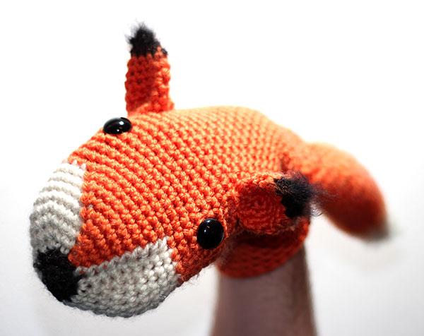 Fox Hand Puppet Crochet Pattern Allcrochetpatterns Net