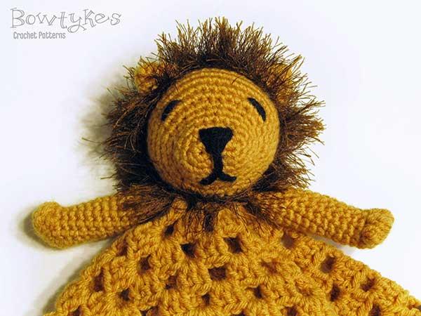 Lion Lovey Crochet Pattern Allcrochetpatterns Net