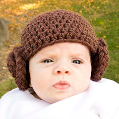 Crochet Pattern Princess Leia Hat : Princess Leia beanie - Free crochet pattern