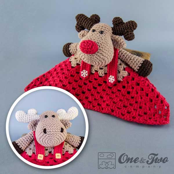 Reindeer And Moose Lovey Crochet Pattern Allcrochetpatterns
