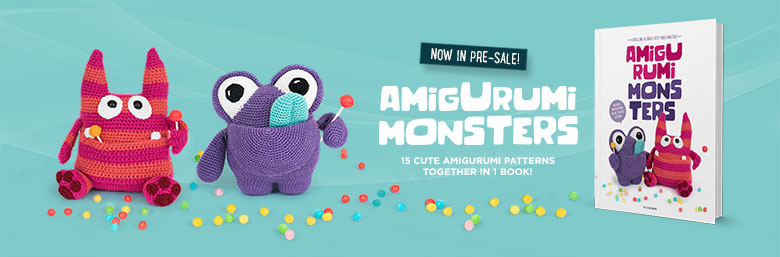 Amigurumi Monsters in pre-sale now